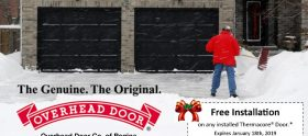Seasonal Promotion - Overhead Door Hello Winter