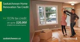 Saskatchewan Home Renovation Tax Credit